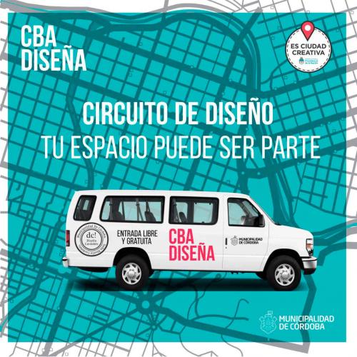 Invitan a locales, showrooms y estudio de diseño a sumarse a circuitos en el Córdoba Diseña