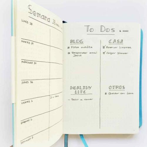 ¿Qué es un Bullet Journal? Descubrí este método para organizar tu vida