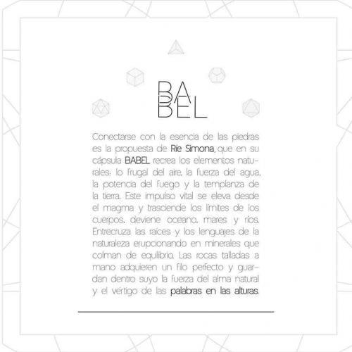 Babel: el idioma de las piedras
