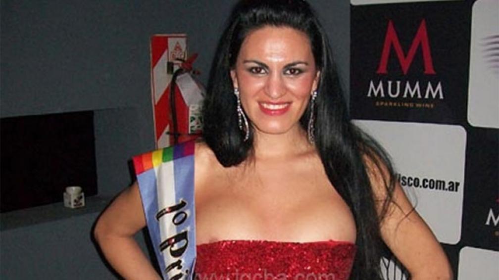 La primera princesa Gay 2012 (foto Lugaresgaycba).
