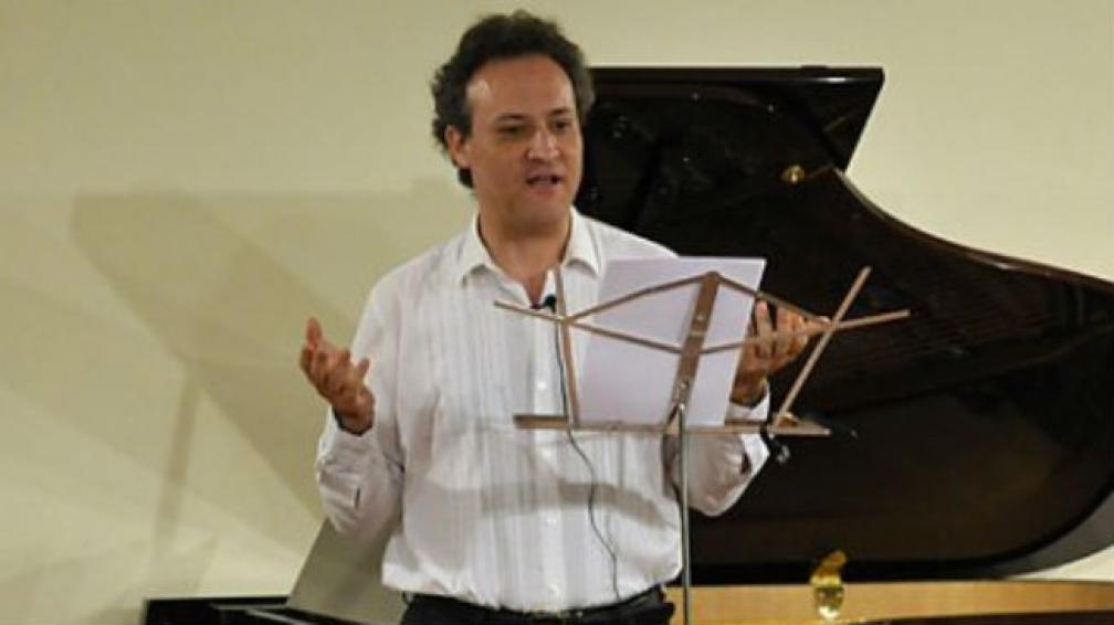 El maestro Tomer Lev, prestigioso músico de Israel.