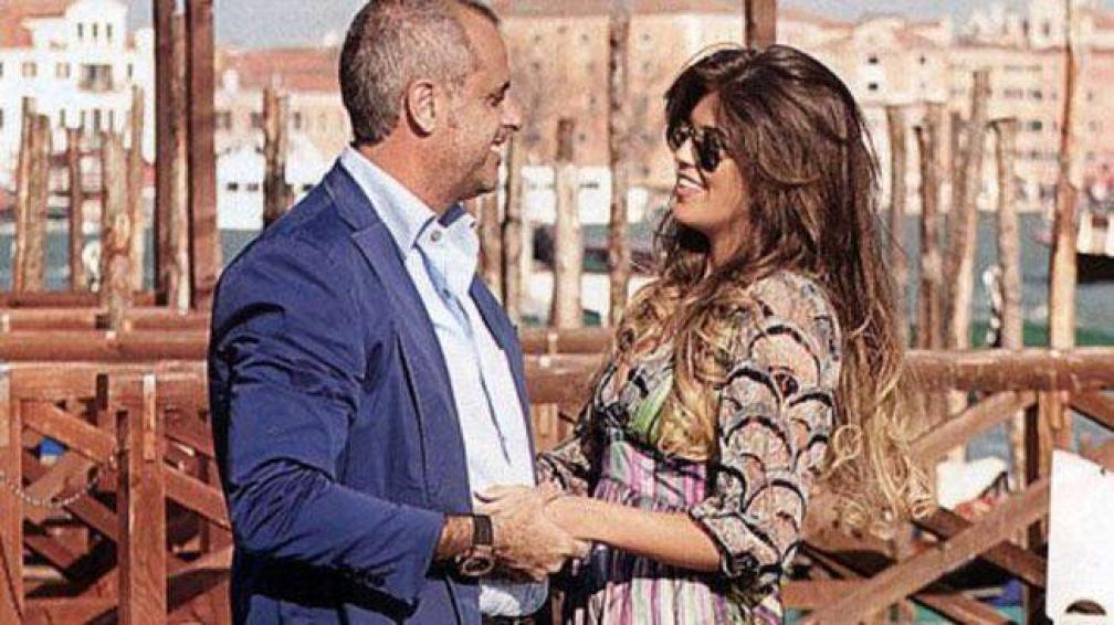 Rial y Loly en su viaje romántico por Italia.