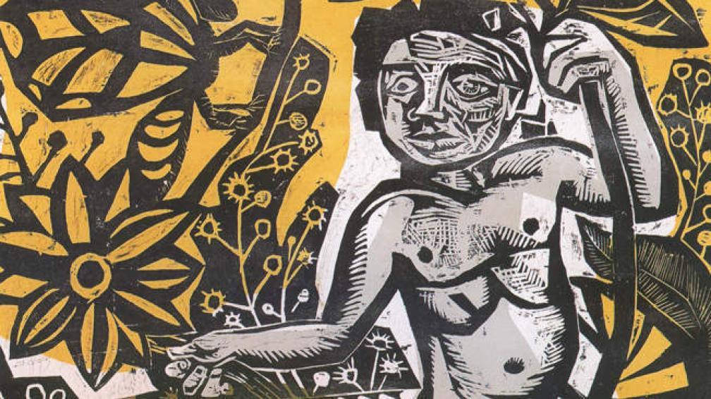 Esta obra de Antonio Berni forma parte de la serie de Juanito Laguna, premiada en la Bienal de Venecia.