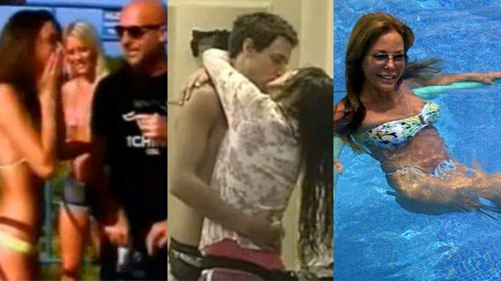 TV CALIENTE. Strip Chino, besos en GH y Alfano con sus fotos.