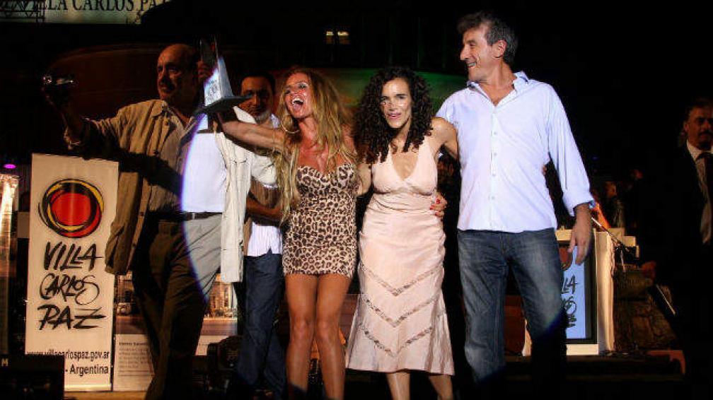 Florencia Peña ganó como mejor actriz. (Fotos Santiago Berioli)