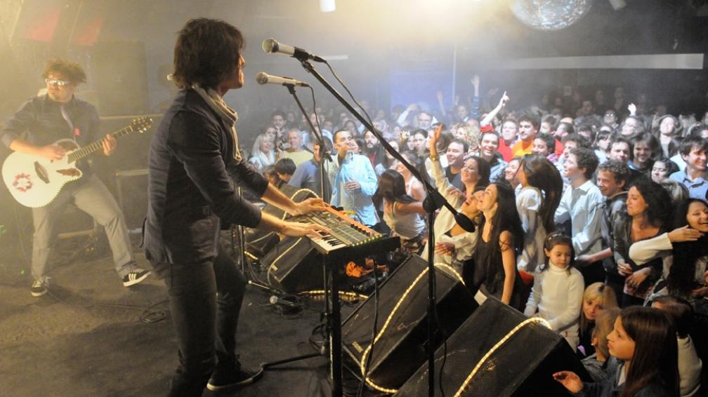 El grupo So What Project! puso a todo el público a bailar (fotografía: Facundo Luque).