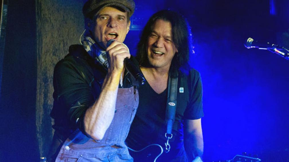 David Lee Roth y Eddie Van Halen, cuando aún se llevaban bien.