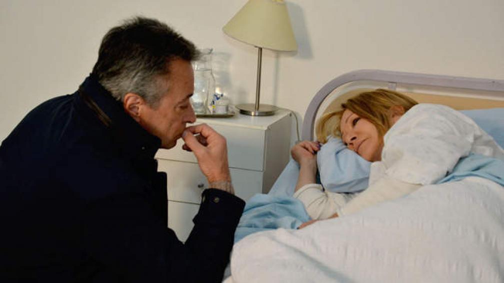 Oscar Martínez y Soledad Silveyra, los protagonistas de la ficción que termina este miércoles.