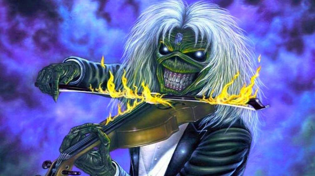 Eddie, el tenebroso personaje que ilustra las portadas de los discos de Iron Maiden (imagen web).
