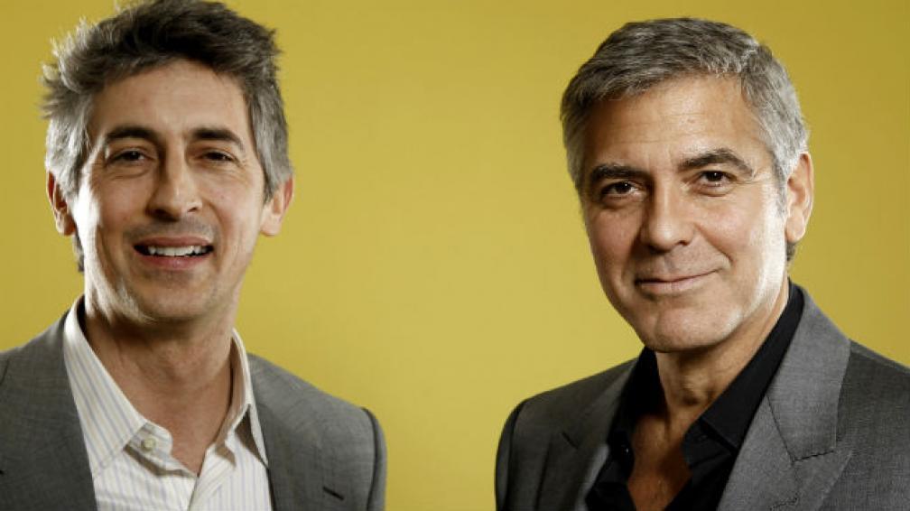 Alexander Payne, junto a George Clooney.