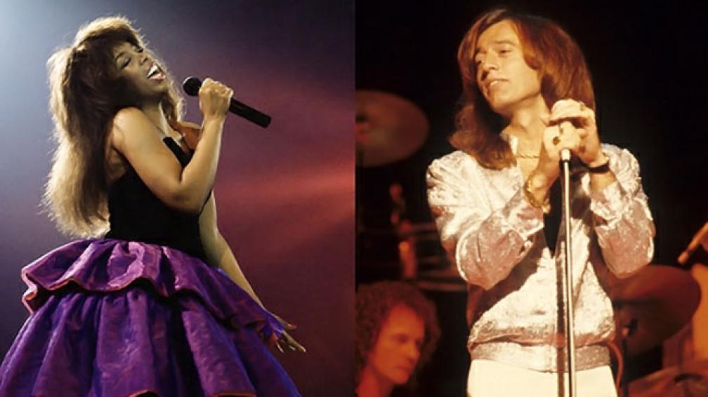 Donna Summer y Robin Gibb, dos íconos de la música disco que fallecieron recientemente.
