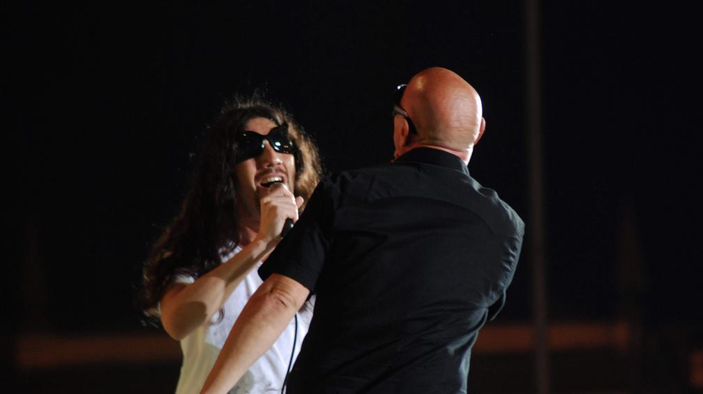Facundo Toro sorprendió invitando al cantante de La Mosca. Foto: La Voz