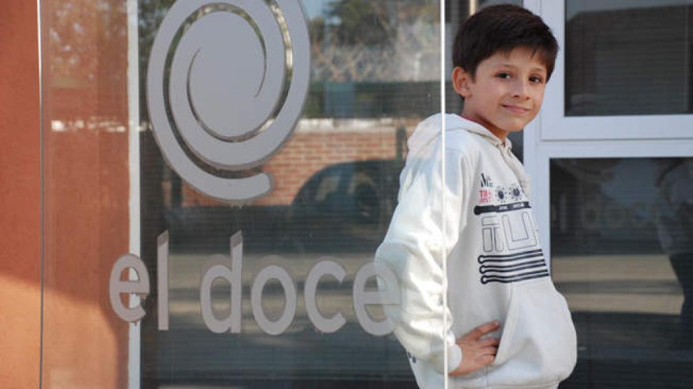 Santiago Díaz Perrín, niño y conductor de tevé.
