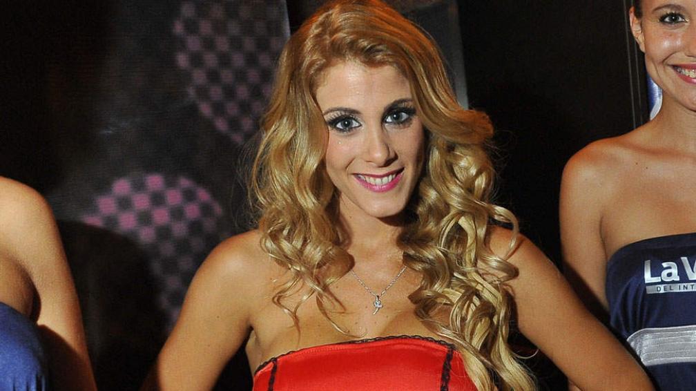 Florencia Maggi, una de las candidatas que no quiso perderse la gran fiesta.