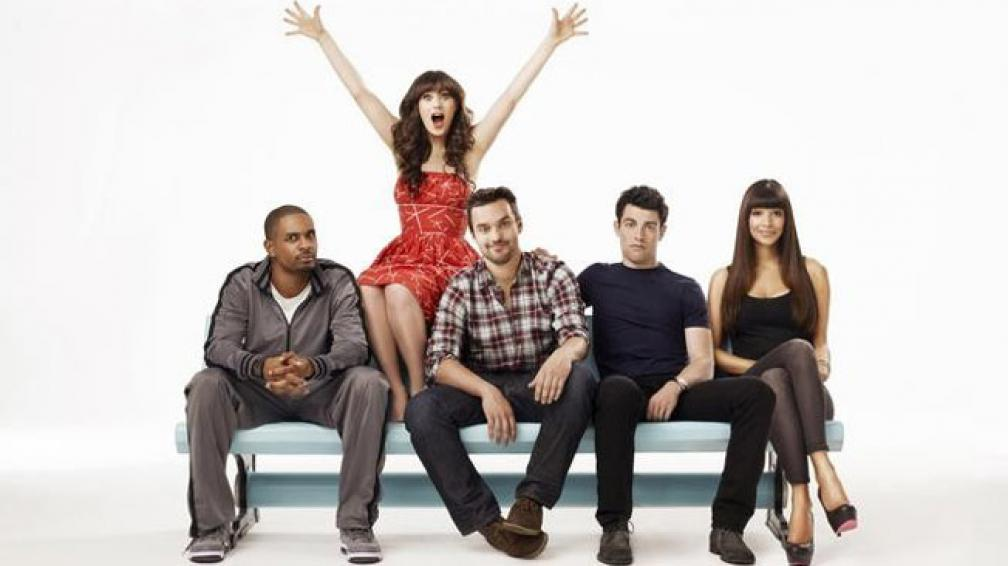 "NEW GIRL. Sitcom al mejor estilo ""Friends"". Con Zooey Deschanel."