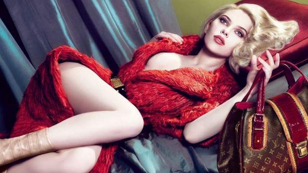 BELLEZA FATAL. En 2007, los fotógrafos Met & Marcus retrataban a Scarlett Johansson. Glamour, belleza y muchas curvas