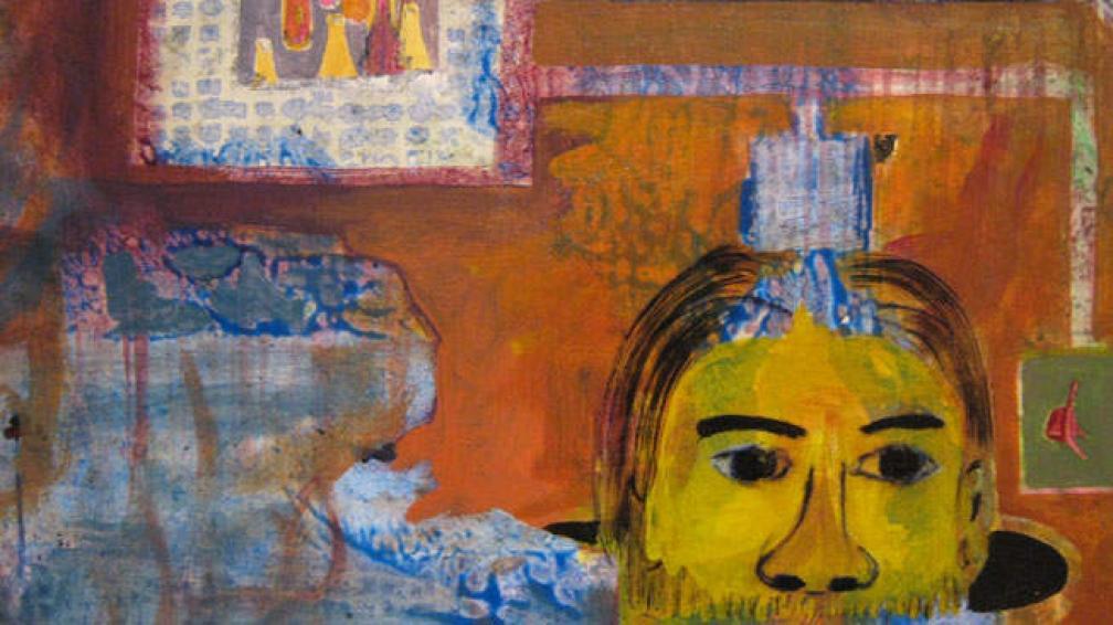 Pintura de Pablo Accinelli que se exhibe en el CAC.