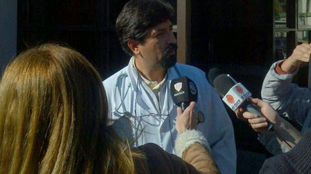 """El doctor Félix Zelaya indicó que García está """"recuperado"""". Foto: Facundo Luque/LaVoz."""