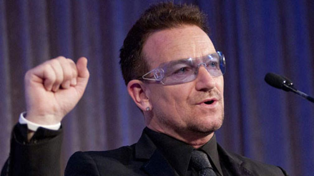 """Bono: """"Nunca voy a ser más rico que un Beatle""""."""
