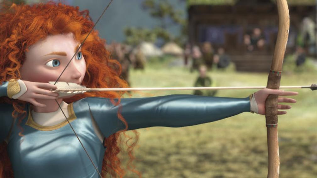"""""""Valiente"""", la película número 13 creada por Pixar, ofrece una historia renovada en el mundo de la animación."""