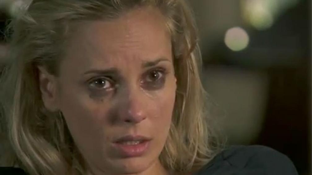 Julieta Cardinali interpretó en gran forma a Marina, quien se pelea con su novio Andrés y le confiesa su amor al analista.