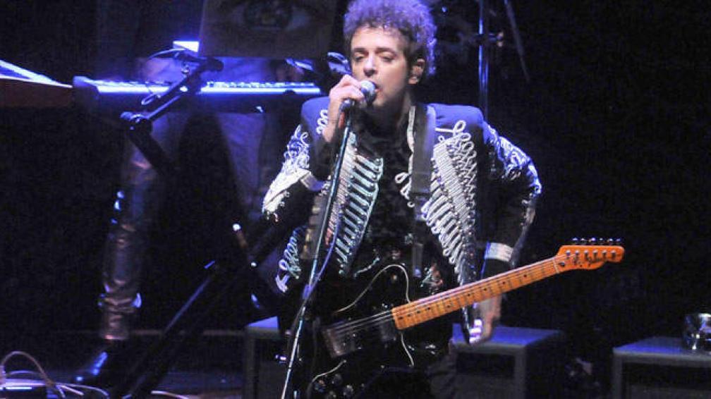 Gustavo Cerati en 2009, en su última presentación en Córdoba.