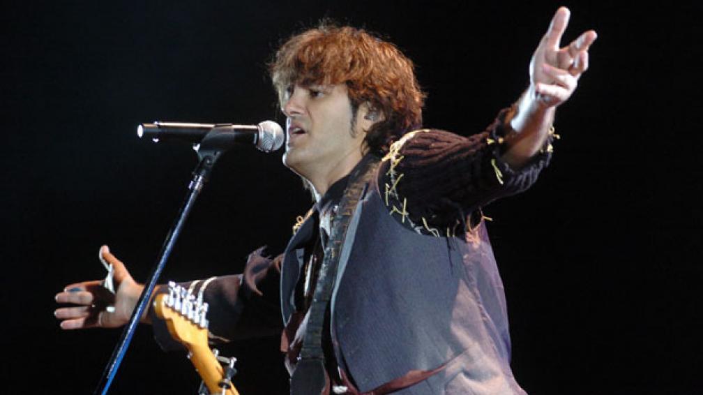 RESUCITADO: Andrés Ciro Martínez se hizo solista el mismo año en el que rompió con Los Piojos.