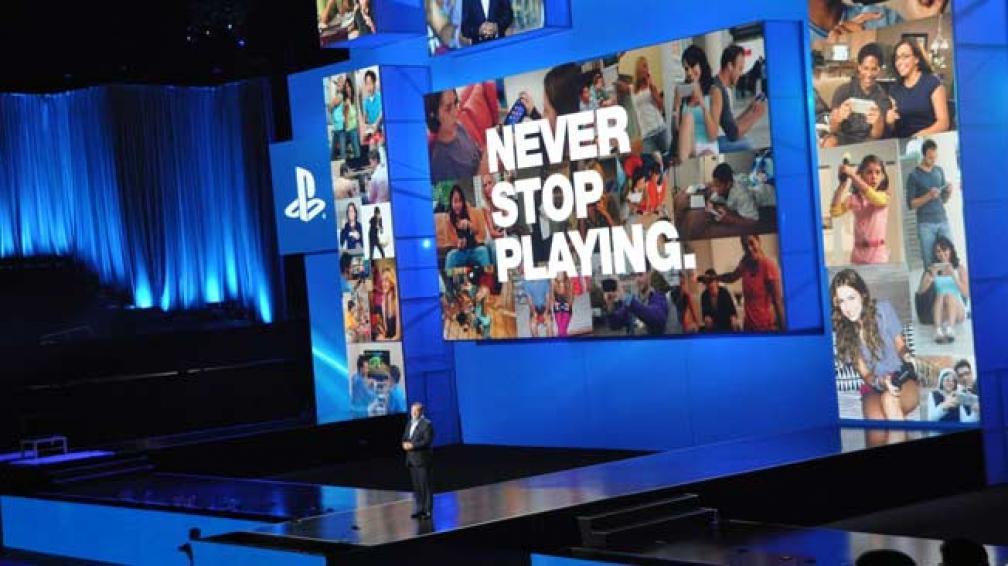El stand de Sony.