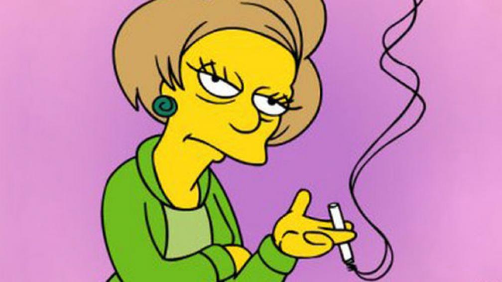 La Maestra Edna Krabappel Personaje De Los Simpson