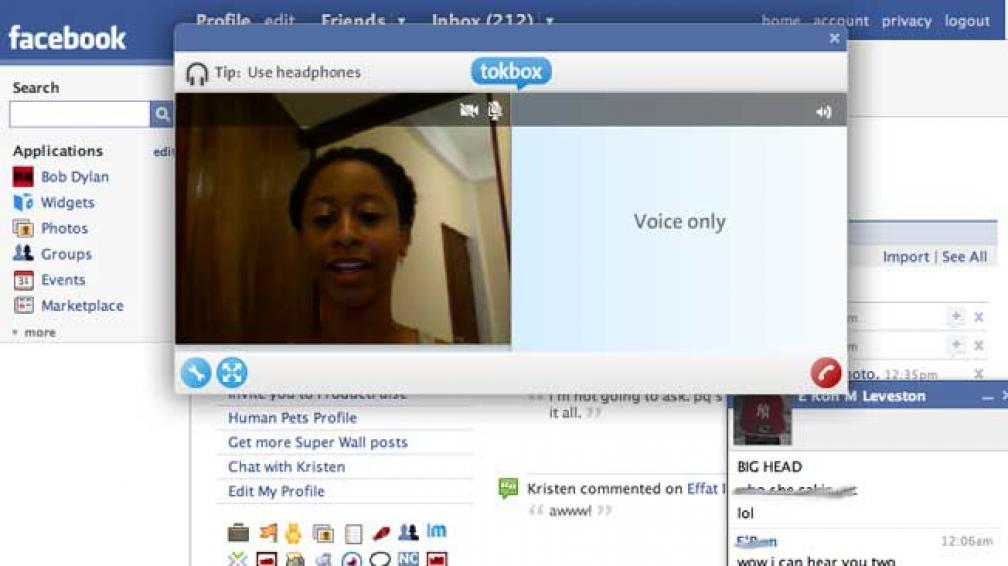 facebook video chat turvenn no