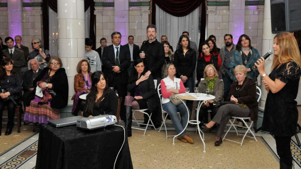 """El proyecto """"Integrados"""" se lanzó el jueves, con la presencia de artistas."""