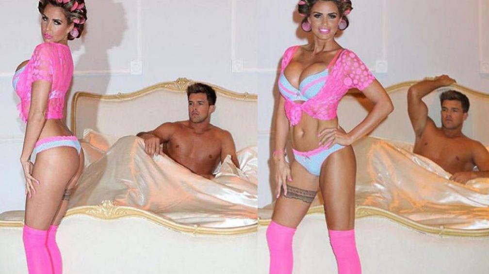 Katie Price y Leandro Penna. Trabajo y placer se mezclan en la vida de ambos modelos.
