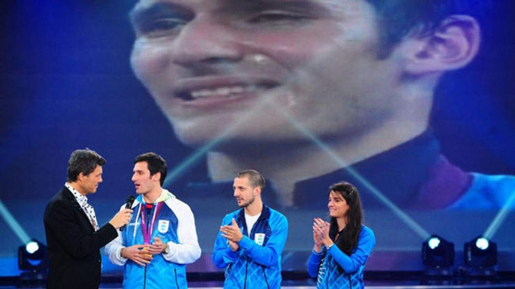 "Sebastián Crismanich le dio unas ""clases"" de taekwondo a Marcelo Tinelli."