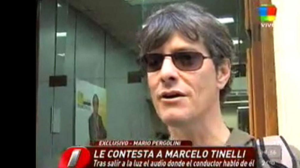 """Mario Pergolini: """"Con Tinelli ahora estamos más cerca""""."""