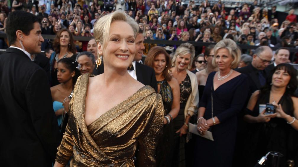 Meryl Strepp se llevó el de Mejor Actriz.