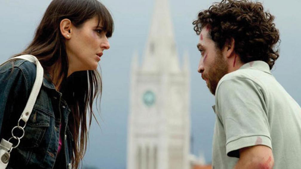 ESTÁS EN LA PURGA. Cintia (Julieta Daga) y Agustín (Francisco Cataldi) viven una historia intensa.