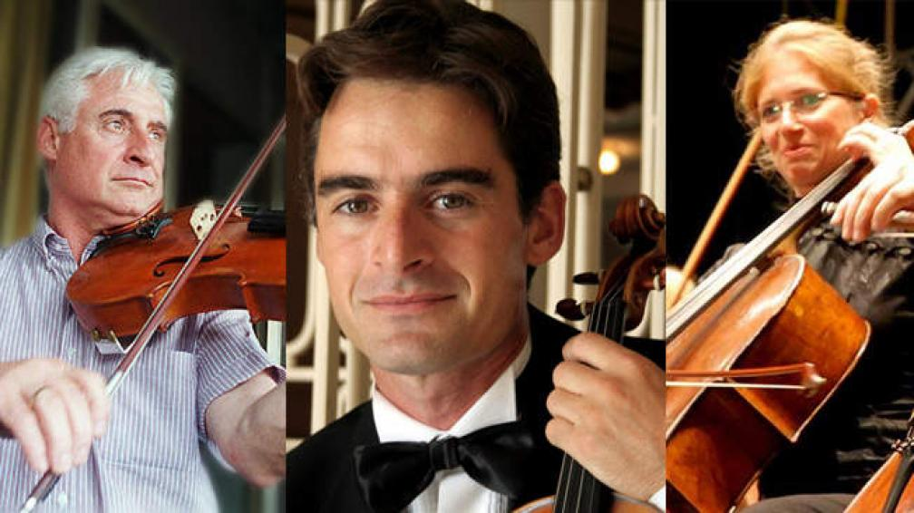 Rubén y Esteban Raspo e Ivón Asrín integraron la Sinfónica e impulsaron numerosos proyectos relativos a la música de cámara.