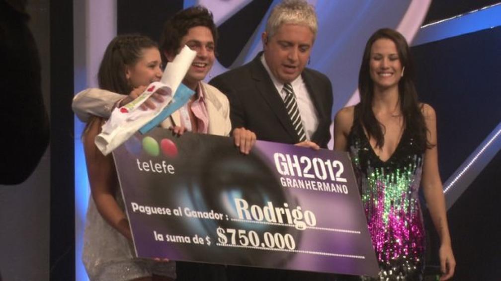 Rodrigo Fernández ya sabe qué va a hacer con el premio y con su futuro.