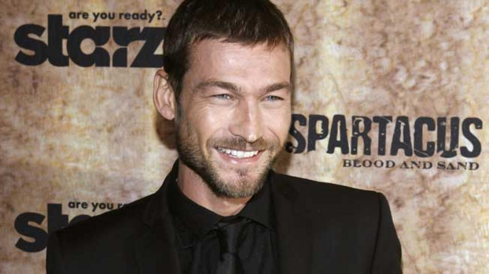 "ANDY WHITFIELD. El actor de ""Spartacus"", de civil."