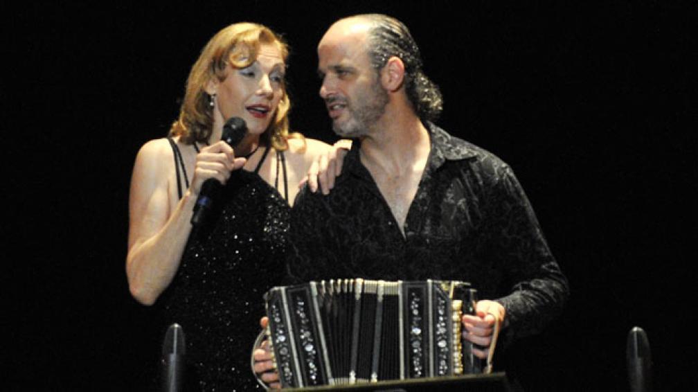 Ute Lemper brilló en el Teatro del Libertador. Foto: Pedro Castillo/La Voz.