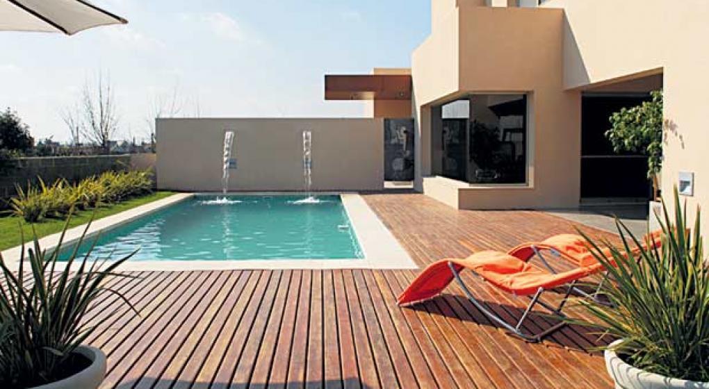 Un deck para pies descalzos el sitio de televisi n - Maderas para exteriores ...