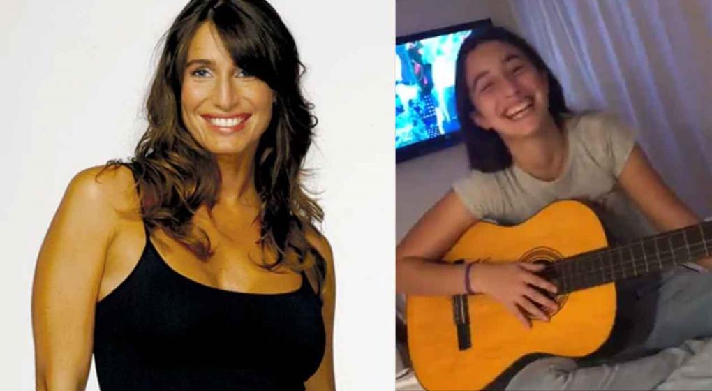Cris Morena publicó un vídeo de su nieta cantando