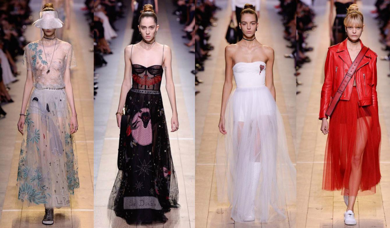 ¡Por el amor de Dior! Así fue el desfile de la firma francesa en la Semana de la Moda de su país