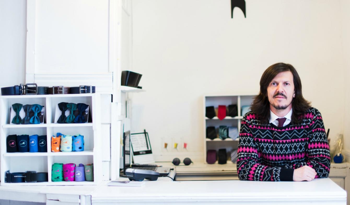 Los cordobeses pueden ´armar´ su camisa ideal en un local de Güemes