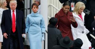 ¿Qué dijeron Melania Trump y Michell Obama a través de sus looks en el acto de asunción presidencial?