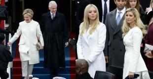 Las mujeres alrededor de Trump: lo que lucieron sus hijas, su nuera y su opositora política