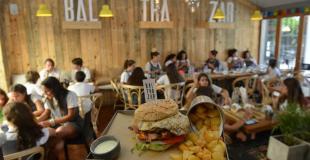 Balthazar, el lugar de las hamburguesas XL