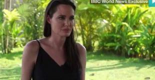 Angelina Jolie habló por primera vez de su separación de Brad Pitt