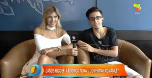 La historia detrás del romance entre Cande Ruggeri y Rodrigo Noya