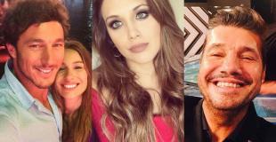 El finde de los famosos en fotos: tarde de pileta, arrumacos en público, vestido de novia y más